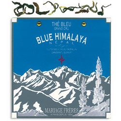 Blue Himalaya : organic oolong blue tea of Nepal summer flush from Himalaya Secret Tea collection