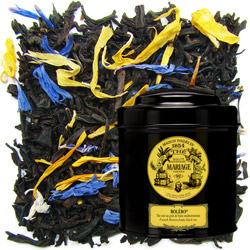 Boléro in Icône black canister : a refreshing black tea with Mediterranean fruit