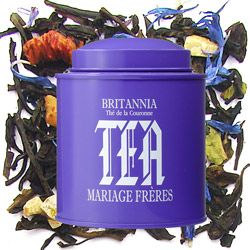 BRITANNIA - Thé de la Couronne : citrus black tea with fruits from Les Calligraphies du Thé tea collection