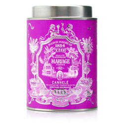 Cannelé : Black tea with French patisserie flavour from Héritage Gourmand tea collection