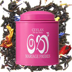 CEYLON - Thé des Dieux : flowery and spicy black tea from Les Calligraphies du Thé tea collection