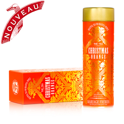 Christmas Orange : a black tea with lucious notes of candied orange from Beautiful Tea For Beautiful People tea collection