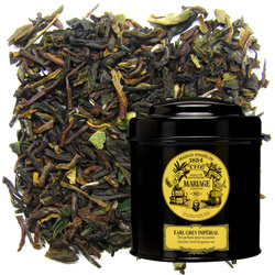 Earl Grey Impérial in Icône black canister : Darjeeling flavoured with bergamot
