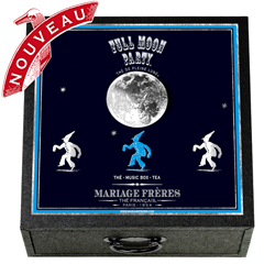 Full Moon Party : 4 teas musical gift box to celebrate the Moon, a music box in the sound of Kojo No Tsuki ( The Castle Under the Moon ) written by Rentaro Taki