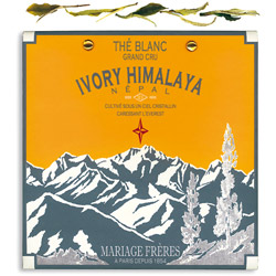 Ivory Himalaya : organic white tea of Nepal summer flush from Himalaya Secret Tea collection