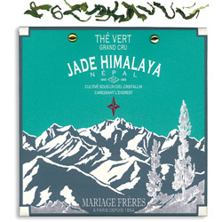 Jade Himalaya : organic green tea of Nepal summer flush from Himalaya Secret Tea collection