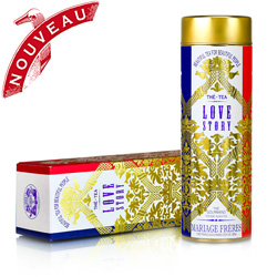 Love Story : thé noir de Noël aux notes fruitées florales de la collection Beautiful Tea For Beautiful People