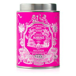 Macaron : Black tea with French patisserie flavour from Héritage Gourmand tea collection