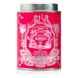 Madeleine : Green tea with French patisserie flavour from Héritage Gourmand tea collection