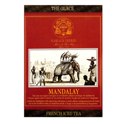 Mandalay : Thé noir glacé parfumé aux épices birmanes de la collection French Iced Tea.Sachet individuel ou mousseline facile à infuser à froid