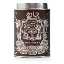 Mousse Au Chocolat : Black tea with French patisserie flavour from Héritage Gourmand tea collection