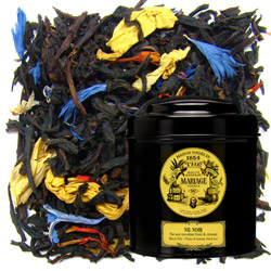 Nil Noir - Black Nile in Icône black canister : citrus black tea with citronella hints
