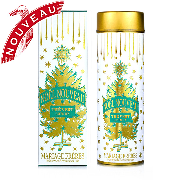 Noel Nouveau : organic Christmas green tea with spicy and fruity notes