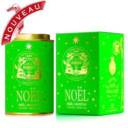 Noël Nouveau : Christmas green tea with festive spices from Happy Noël tea collection