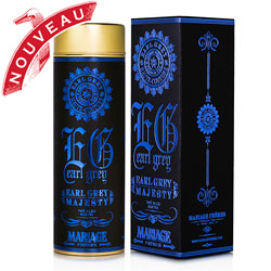 Organic oolong blue tea Earl Grey Majesty from Earl Grey Haute Couture tea collection