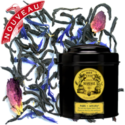 Paris Aoyama in Icône black canister : fruity and flowery black tea