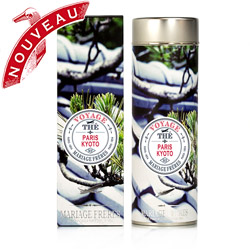 Paris - Kyoto : green tea from Voyage collection
