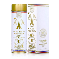 Paris Tea Time : Thé blanc parfumé de la collection Thé Parisien