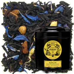Pleine Lune - Full Moon in Icône black canister : almond black tea with spices and notes of honey