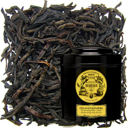 Ratnapura OP Ceylon in Icône black canister : a five o'clock Ceylon black tea