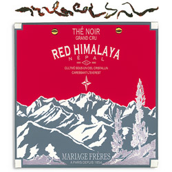 Red Himalaya : organic black tea of Nepal autumn flush from Himalaya Secret Tea collection