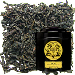 Ruschka in Icône black canister : citrus black tea with Russian taste