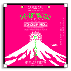 Ryokochicha Meicha : Japanese organic green tea in packet from New Green Tea collection