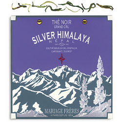 Silver Himalaya : organic black tea of Nepal summer flush from Himalaya Secret Tea collection