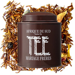 South Africa - Zoulou Tea : fruity and flowery rooibos red tea from Les Calligraphies du Thé tea collection