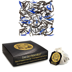 Earl Grey French Blue tea bags : black tea with bergamot and blue flowers