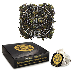 Earl Grey Imperial tea bags : Darjeeling flavoured with bergamot