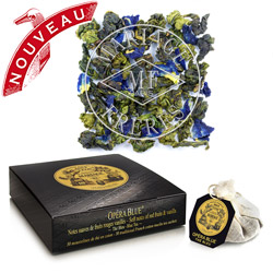 Opera Blue tea bags : red berries oolong blue tea with vanilla