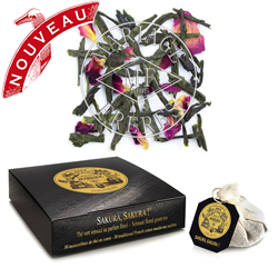 Sakura tea bags : organic green tea with Japanese cherry blossom