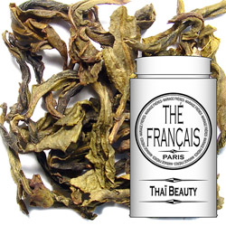 Thai Beauty : Thai oolong blue tea from Precious Tea collection