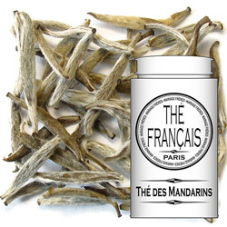 Thé des Mandarins : Chinese and jasmine white tea from Precious Tea collection