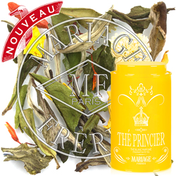 Thé Princier : a citrus white tea from Thé des Rois tea collection