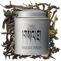 Tibet - Thé des Prières : fruity and spicy black tea with plants from Les Calligraphies du Thé tea collection