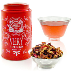 Very French : infusion de fruits à la vanille, au caramel, aux fleurs et à la pormme de la collection Very Fruit Tea