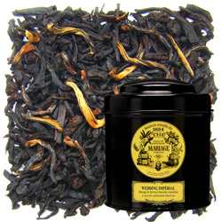 Wedding Imperia in Icône black canister : Assam black tea with chocolate and caramel