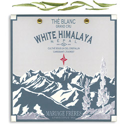 White Himalaya : Thé blanc organique népalais de la collection Thé Secret de l'Himalaya