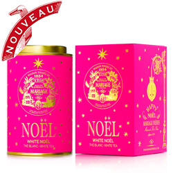 White Noël : Christmas white tea flavoured with traditional festive spices from Happy Noël tea collection