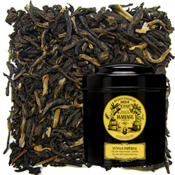 Yunnan Imperial in Icône black canister : Chinese black tea
